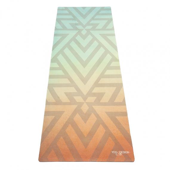 Designová jogamatka Yoga Design Lab Combo Mat Popsicle Maze