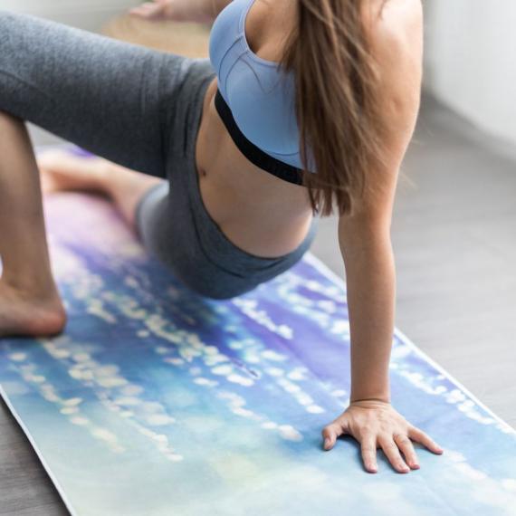 Yoga Design Lab Mat Towel Serenity
