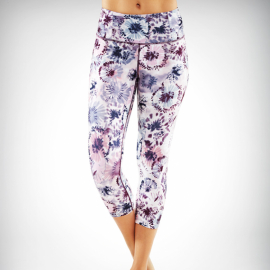 Manduka Essential Capri Legging Hana Print