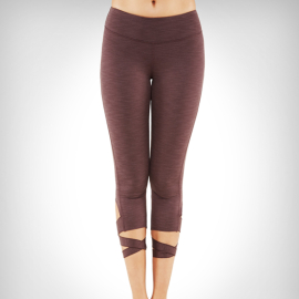 Manduka Flux Legging Raisin