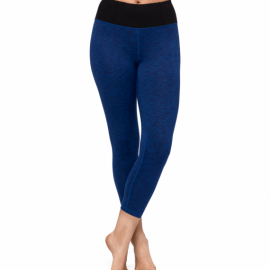 Manduka Essential Cropped Legging New Moon Melange