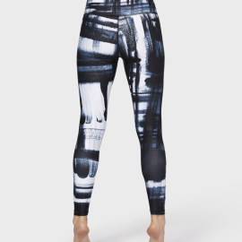 Manduka Brush Paint Legging Blue Multi
