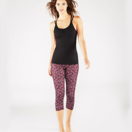 Manduka Essential Capri Legging Adaptation Print