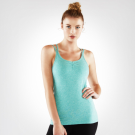 Manduka Cross Strap Cami Heather Jade