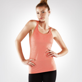 Manduka Cross Strap Cami Heather Vibrance