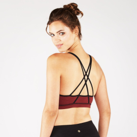 Manduka Illusionist Bra Ruby
