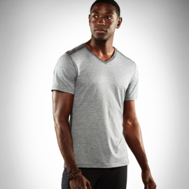 Manduka Minimalist Tee Heather Grey