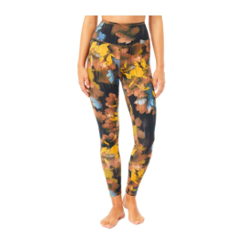Mandala Printed Tencel Legging Canadian Autumn