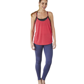 Manduka Breeze Strappy Tank Grapefruit