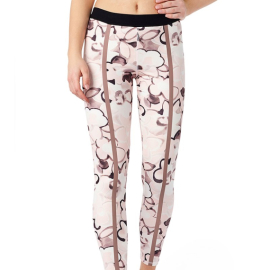 Mandala Printed Tights English Rose