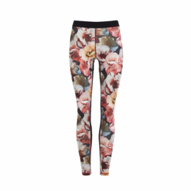 Mandala Printed Tights Rose Print