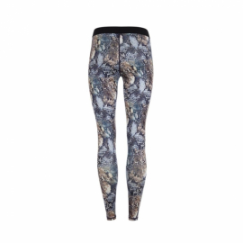 Mandala Printed Tights Virtual Snake