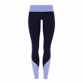 Mandala Color Block Legging Navy/Heather