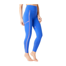 Mandala Punched Legging Blue Screen