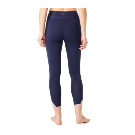 Mandala Cropped Yoga Tights Marine