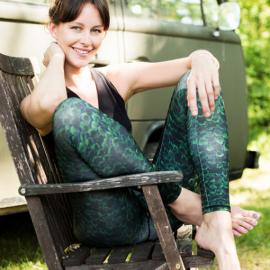 Mandala Printed Legging Tipsy Print