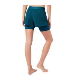 Mandala Yoga Shorts Tropical Green