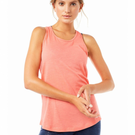 Mandala Basic Tank Top Coral