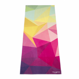 Yoga Design Lab Mat Towel Geo