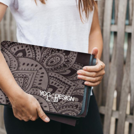 Yoga Design Lab Travel Mat 1,5 mm Mandala Black