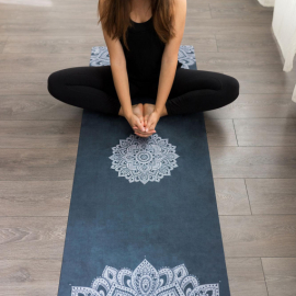Yoga Design Lab Travel Mat 1,5 mm Mandala Sapphire