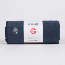 Manduka eQua® Mat Towel Midnight