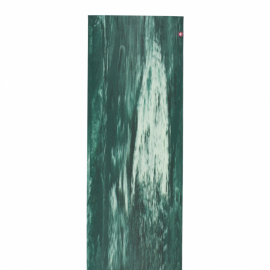 Manduka eKO SuperLite® Travel Mat Deep Forest Marbled