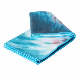 Manduka eQua® Mat Towel Eclipse Dye Caribbean