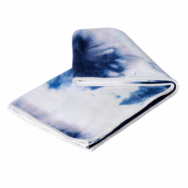 Manduka eQua® Hand Towel Navy Tie Dye
