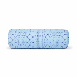 Manduka Enlight™ Round Bolster Star Dye Clear Blue