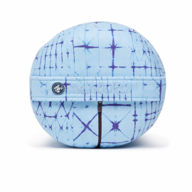 Manduka Enlight™ Round Bolster Star Dye Clear Blue
