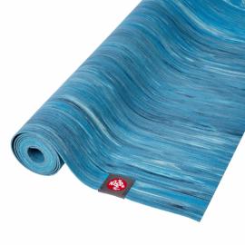 Manduka eKO SuperLite® Travel Mat Dresden Blue Marbled