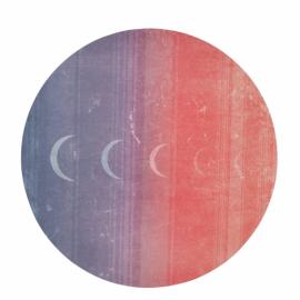 Manduka equa® eko® round yoga mat Luna Sunrise