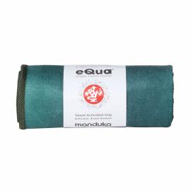 Malý jógový ručník Manduka eQua® Hand Towel Camo Green Tie Dye