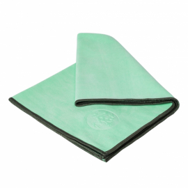Manduka eQua® Hand Towel Green Ash