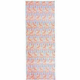 Manduka eQua® Mat Towel HD Giraffes Blue - limitovaná edice