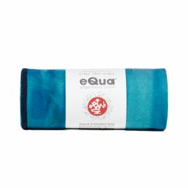 Manduka eQua® Mat Towel Hand Dye Pacific Blue