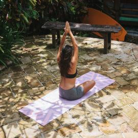 Yoga Design Lab Travel Mat Gypsy Maze