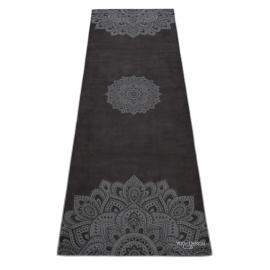Yoga Design Lab Mat Towel Mandala Black