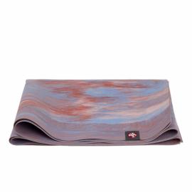 Cestovní jógamatka Manduka eKO SuperLite® Travel Mat Deep Coral Marbled 180 cm
