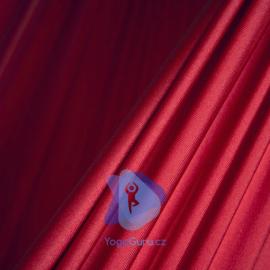 Síť na jógu tmavě červená