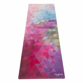 Designová jógamatka Yoga Design Lab Combo Mat Tribeca Sand