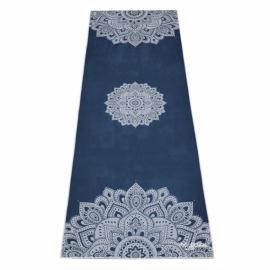 Yoga Design Lab Mat Towel Mandala Sapphire