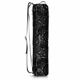 Yoga Design Lab Mat Bag Mandala Charcoal