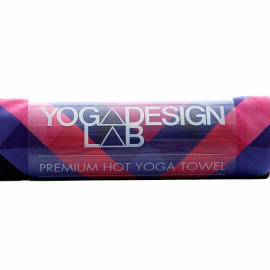 Yoga Design Lab Mat Towel Chevron Maya