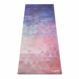 Cestovní designová jógamatka Yoga Design Lab Travel Mat Tribeca Love