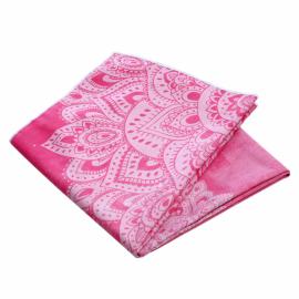 Yoga Design Lab Mat Towel Mandala Rose