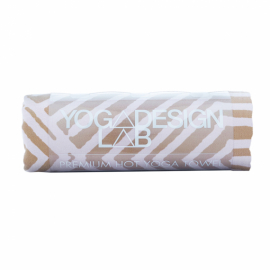 Yoga Design Lab Mat Towel Optical Gold