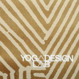 Yoga Design Lab Travel Mat Optical Gold