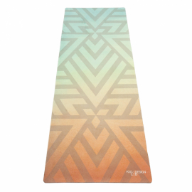 Yoga Design Lab Combo Mat Popsicle Maze